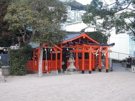 熊内八幡神社の御朱印 [兵庫県神戸市中央区]